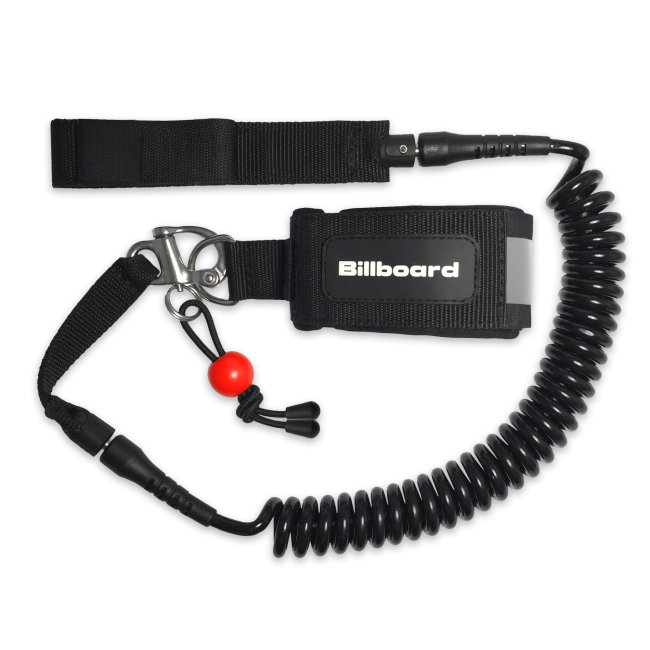 quick release paddle board leash from billboard sup