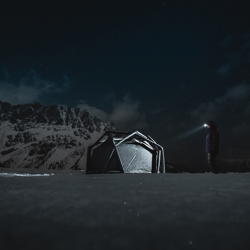 SOLD OUT - HEIMPLANET X UNCRATE CAVE TENT 14