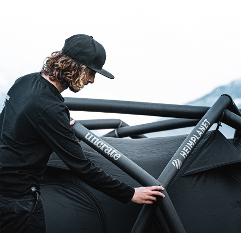 SOLD OUT - HEIMPLANET X UNCRATE CAVE TENT 11